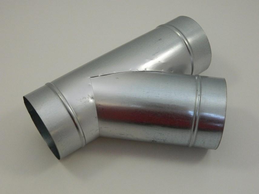 Spruitstuk D100-100-100 45°