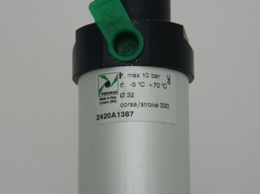 Cilinder Slag 330 mm voor afzuigkap