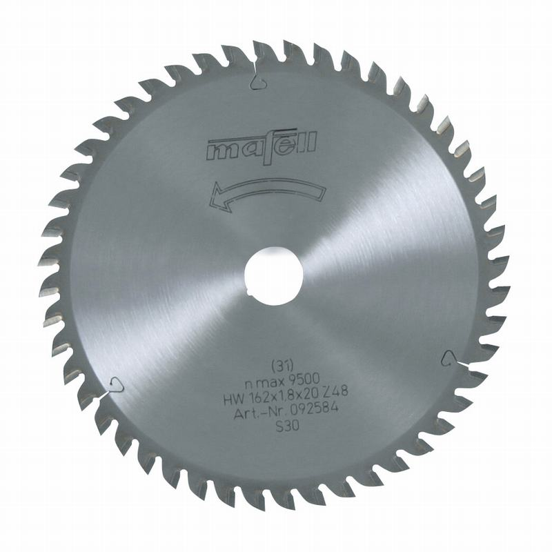 Mafell HM 162x1,2/1,8x20mm Z48 WZ Zaagblad