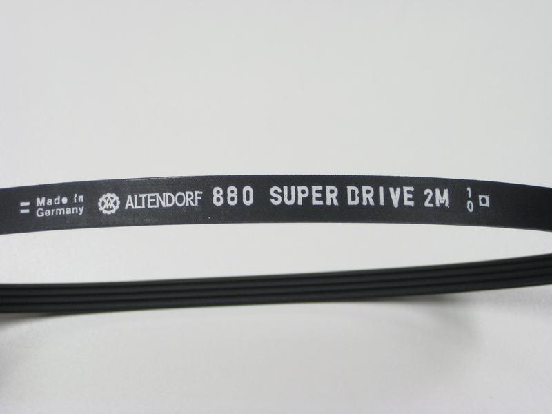 Ribbenriem 4PK880 2M SUPERDRIVE