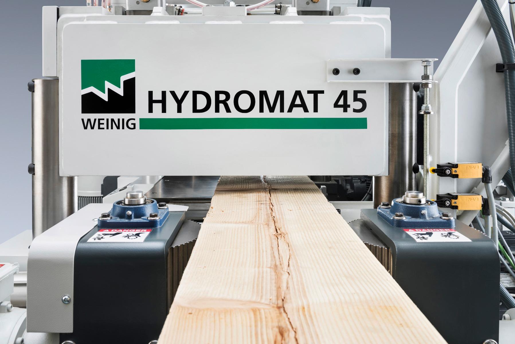 Weinig Hydromat 45 vierzijdige breedschaafmachine