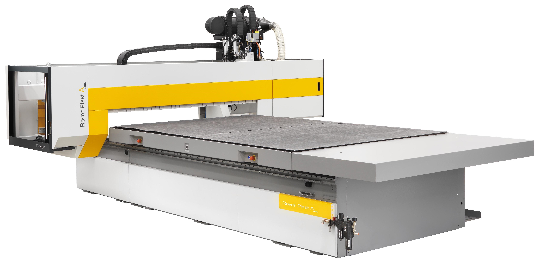 Biesse Rover Plast A FT CNC-gestuurde freesmachine