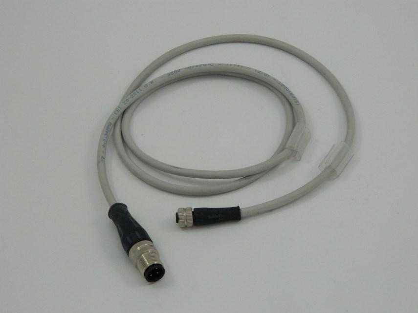 Kabel M=4P F=4P 1mtr M12