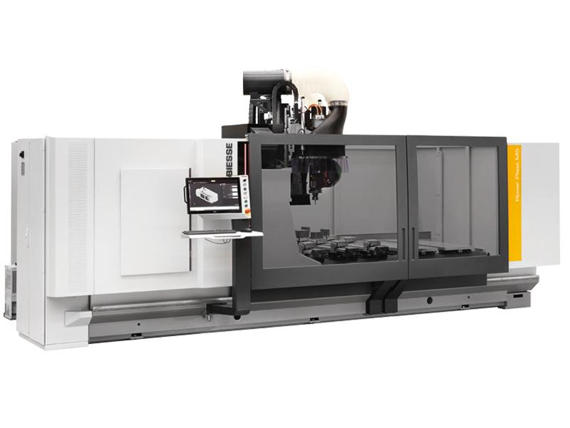 Biesse Rover Plast M5 CNC-gestuurde freesmachine