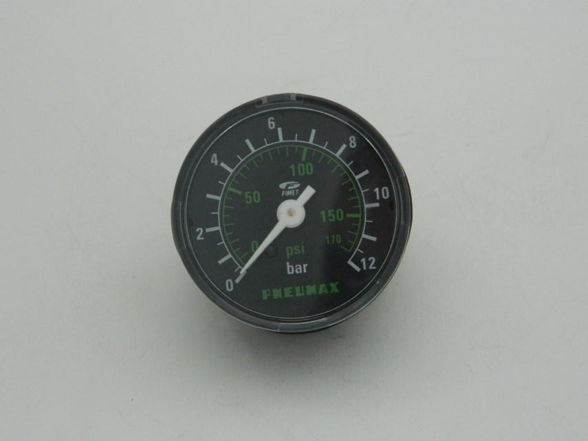 Manometer D50 0-12 bar