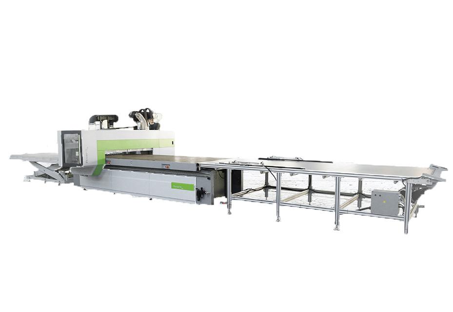 Biesse Rover S FT CNC-gestuurde freesmachine