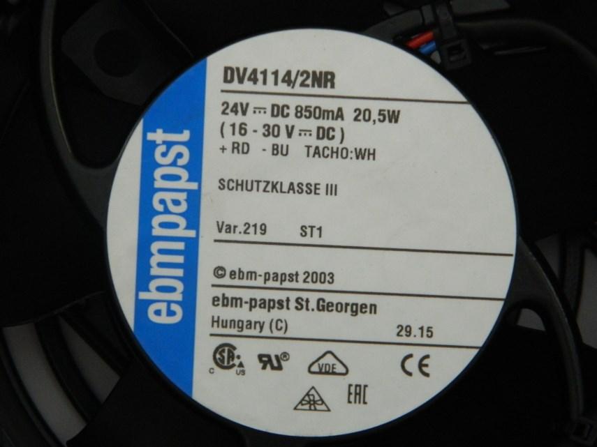Koelventilator 24 V