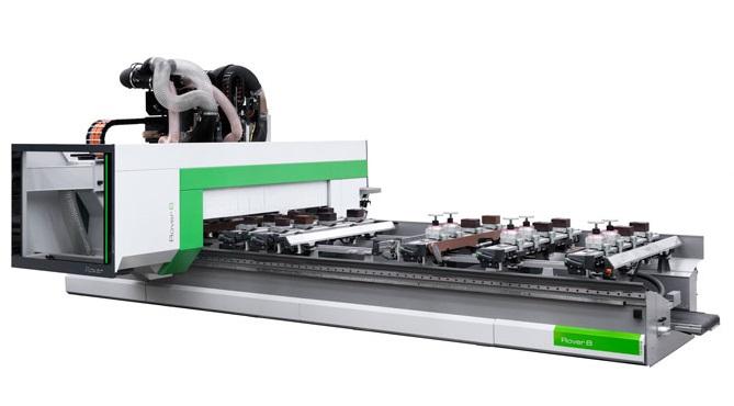 Biesse Rover B CNC-gestuurde freesmachine