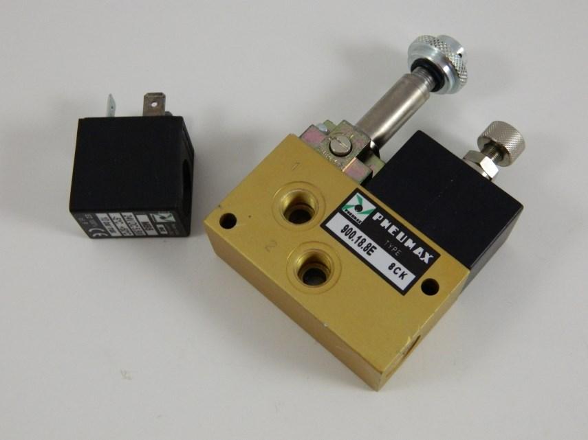 Hoge/lage drukventiel teknomat