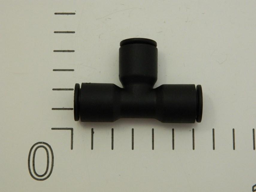 T-stuk insteek koppeling 12 mm