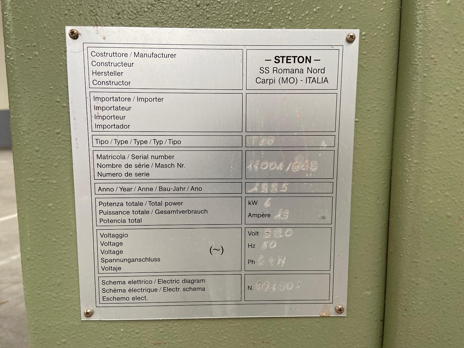 Steton T40 gebruikte tafelfrees