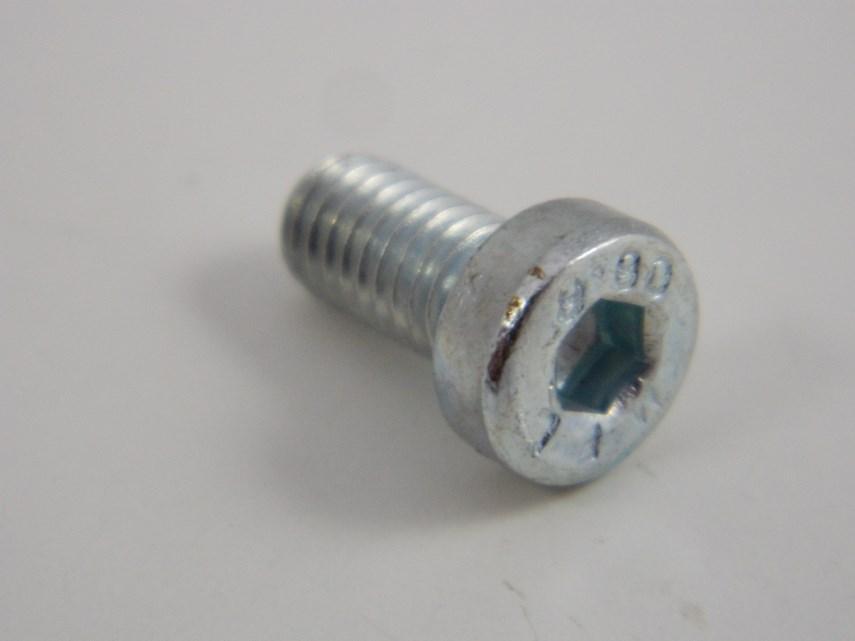 Cylinderschroef verzinkt 6x12-8.8