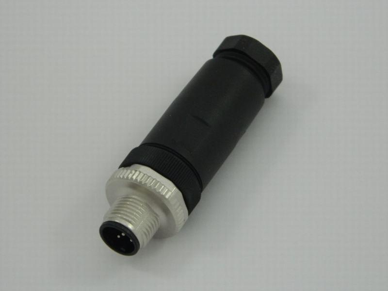 Schroef 5-polig M12