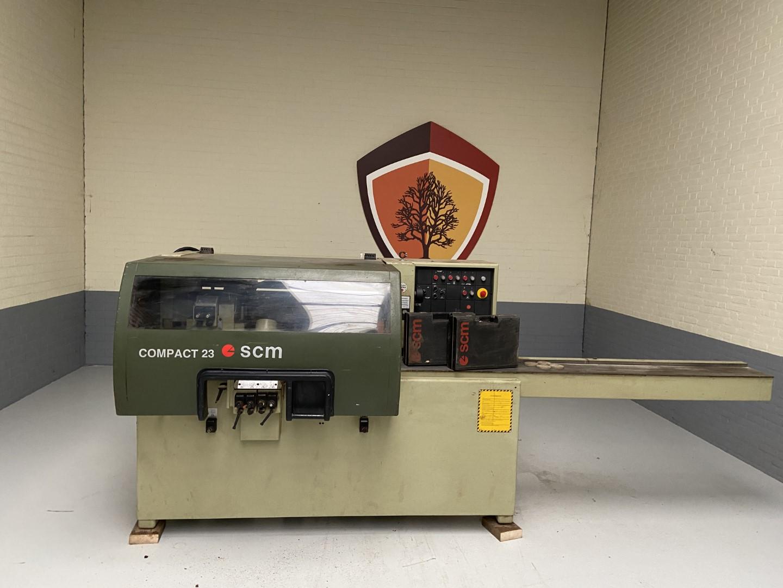 SCM Compact 23 gebruikte vierzijdige schaafmachine