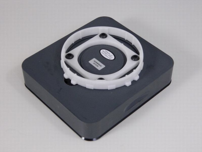 Vacuumcup heel 131x146x29mm PVC, rubber ring buiten, koord binnen