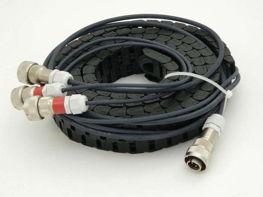 Kabelrups + kabels tbv rolwagen 3200 mm