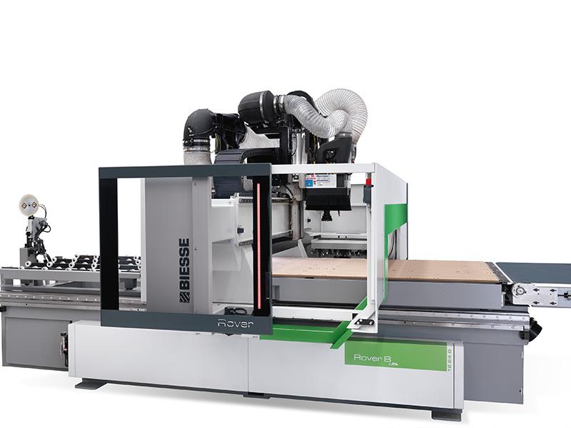 Biesse Rover B FT CNC-gestuurde freesmachine
