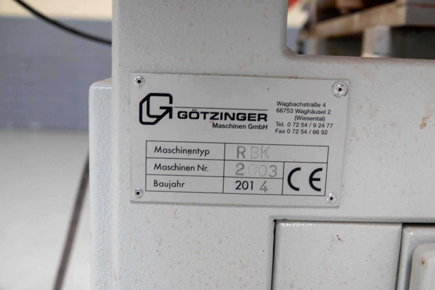 Götzinger RBK gebruikte drevelboormachine