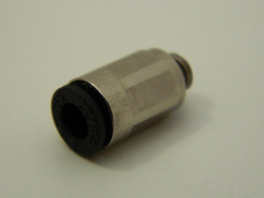 Lucht recht inschroef M5/4 mm