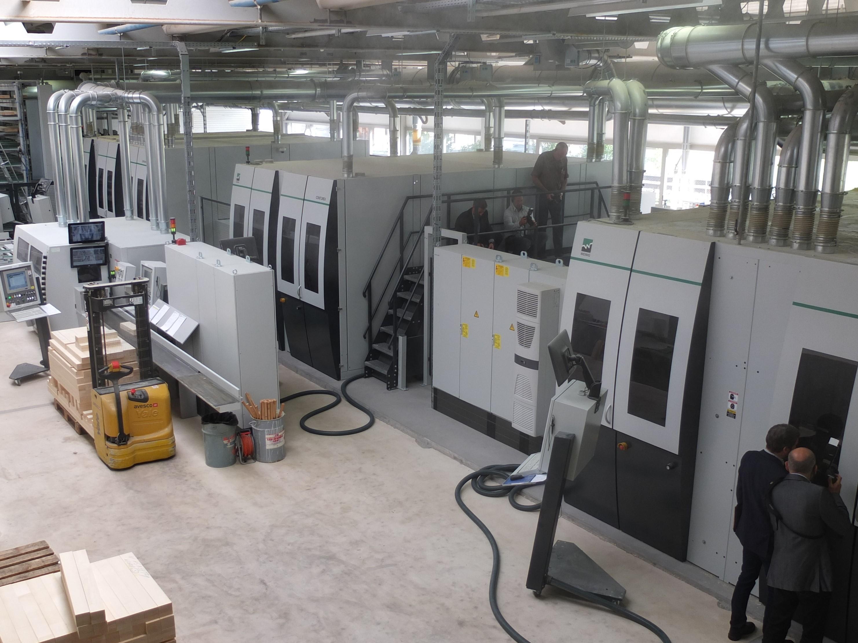 Weinig Conturex Systems Line