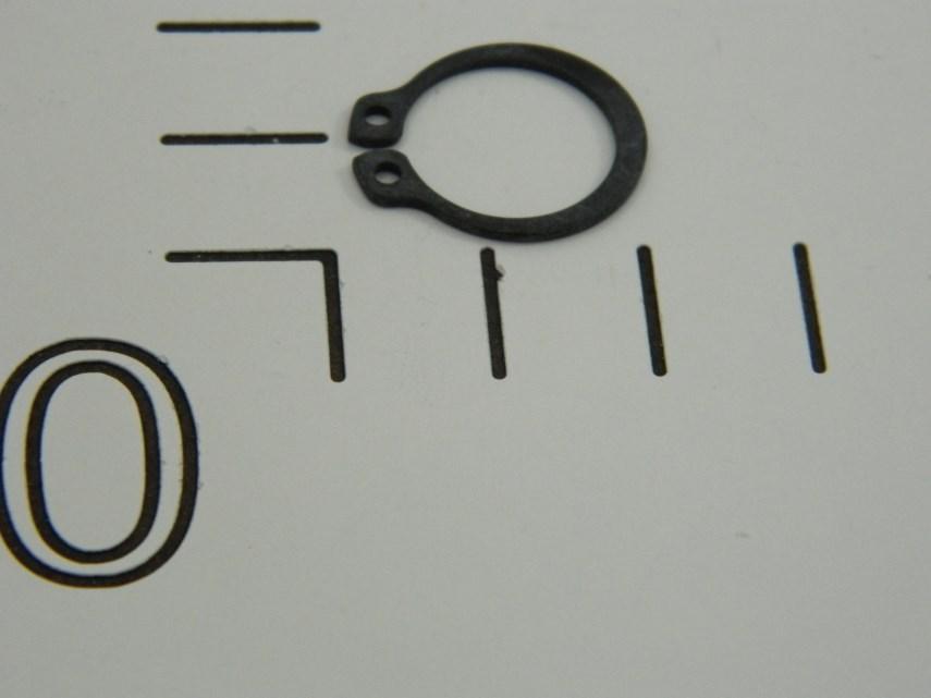 Zekeringsring 15x1