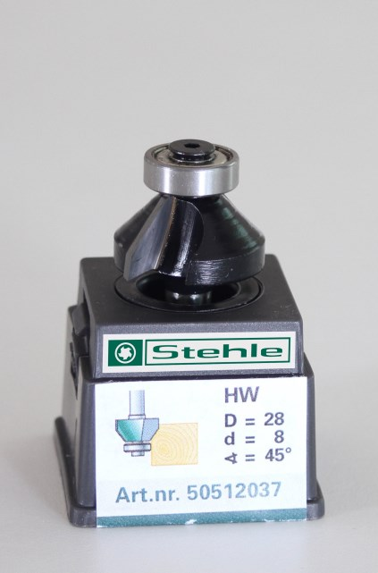 Fasefrees HM met kogellager 28,0x043/013x08,0 Z=2+L 45gr.