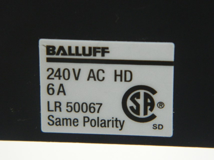Roller eindschakelaar (Balluff)