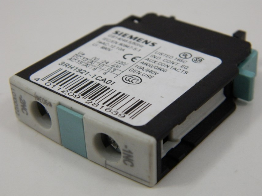 Hulpcontact (Siemens) 1O 3RH1921-1CA01