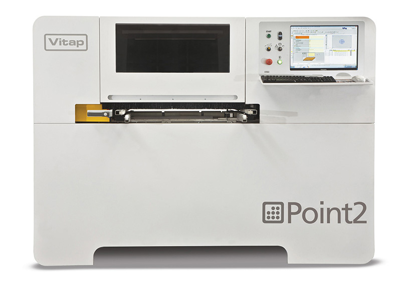 Vitap Point 2 CNC-gestuurde boormachine