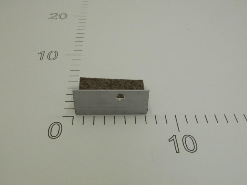 Schraper links voor zwenkarm