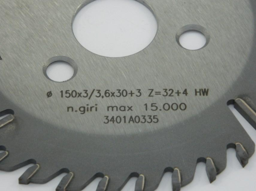Kapzaag D150 Z36