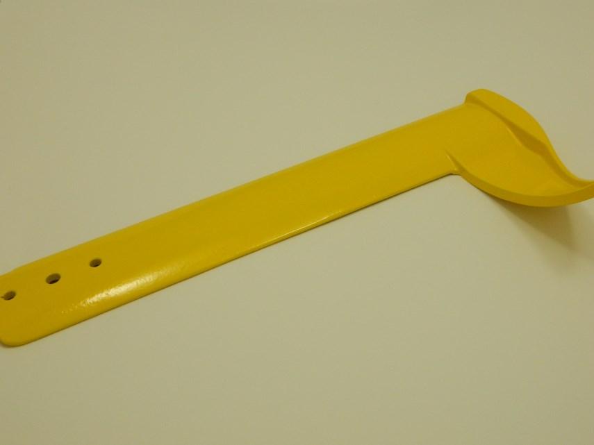Bladlip 700 mm geel