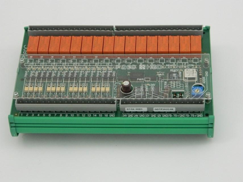 Module 16+16R I/O REV.D