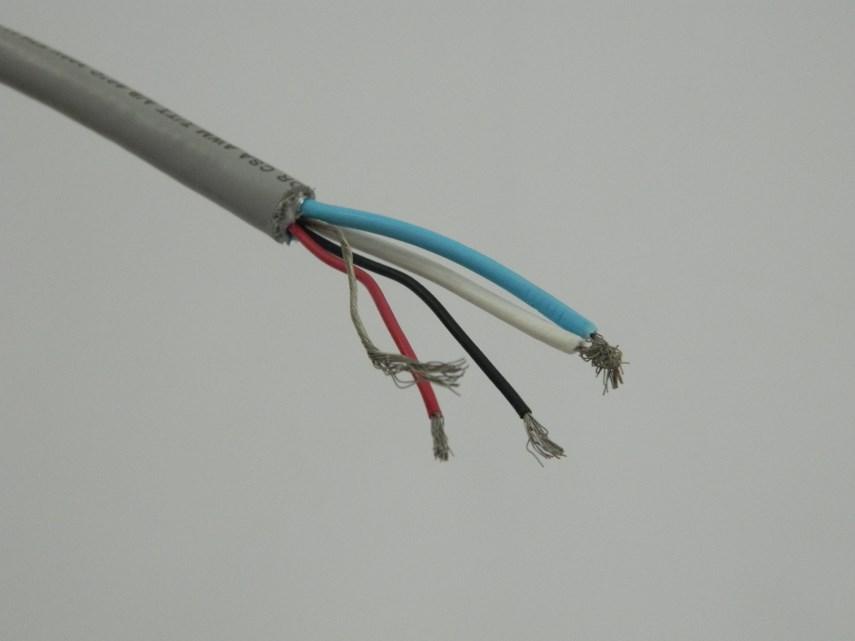 Kabel M5 P/open eind M12 1 mtr