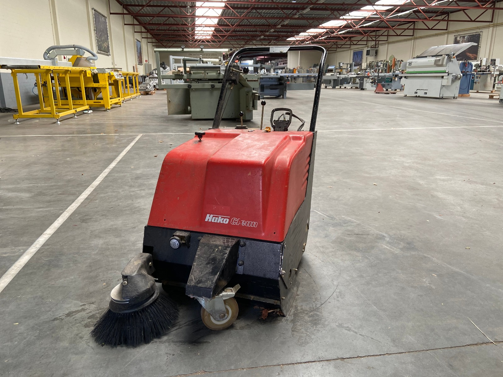 Hako Varo Hamster 600 gebruikte veegmachine