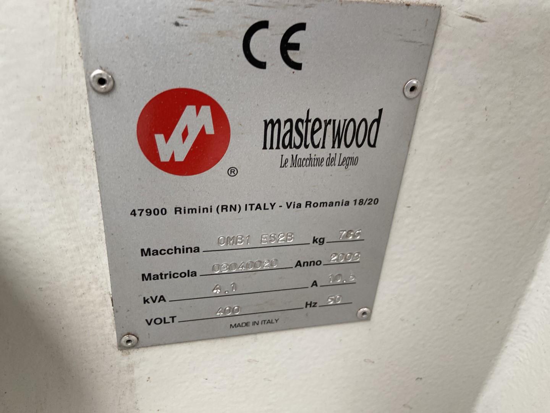 Masterwood OMB-1 ES2-B gebruikte gatensteekmachine