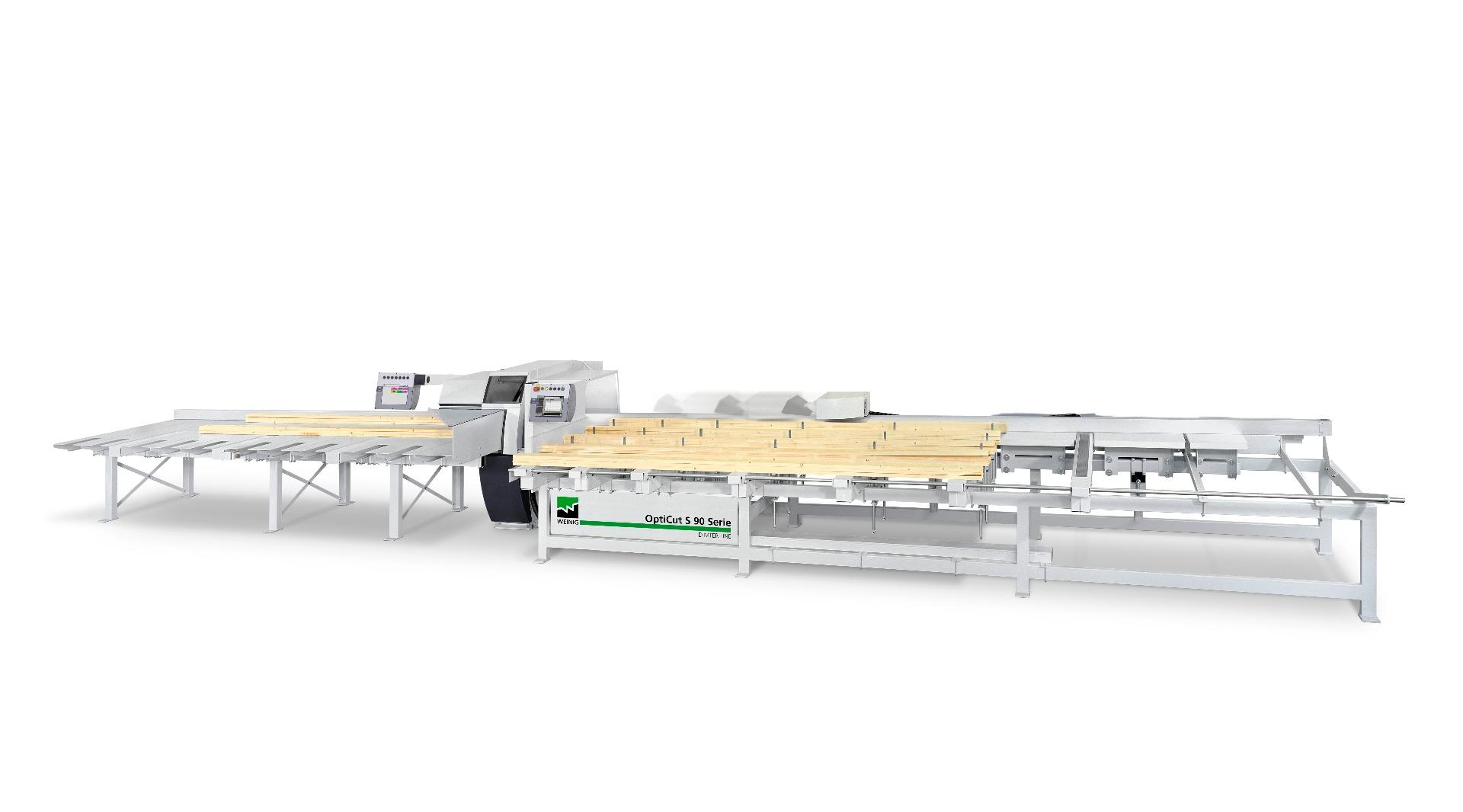 Weinig Dimter Opticut S90 Onderliggende afkortzaag