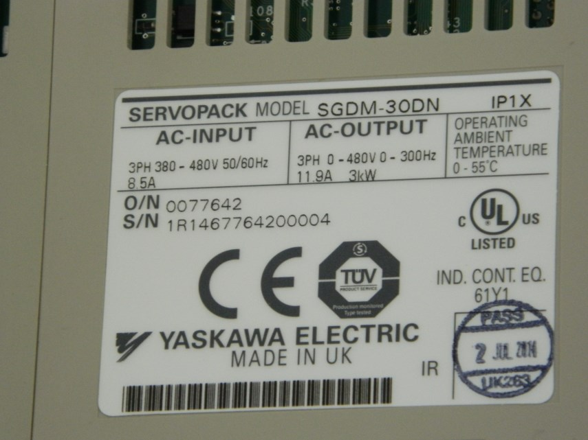 Aansturingskaart SGDM-30DN