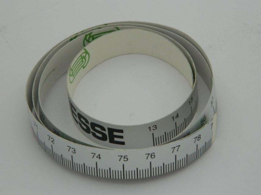 Metrische schaal meetlint 790-1590 mm