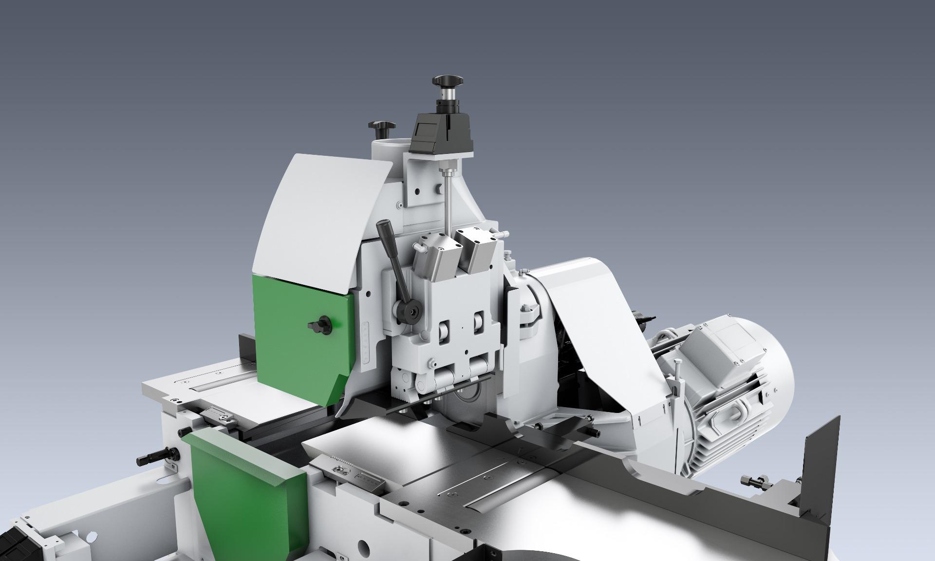 Weinig Powermat 3000 vierzijdige schaafmachine