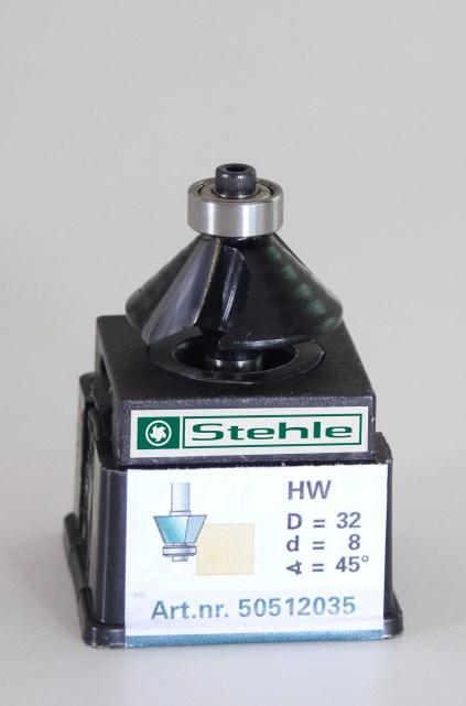 Fasefrees HM met kogellager 32,0x042/012x08,0 Z=2+L 45gr.