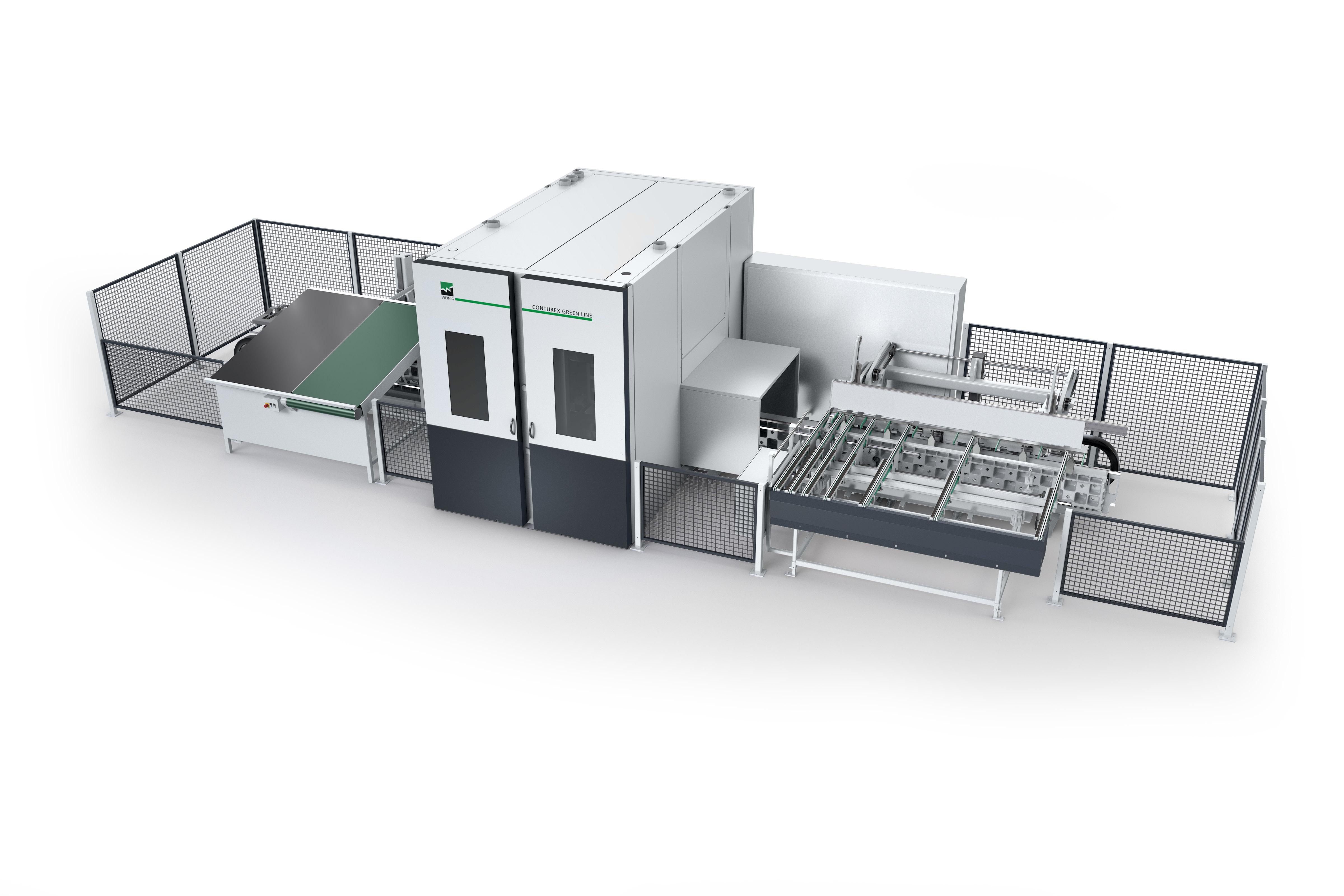 Weinig Conturex Greenline / Greenline Plus CNC-bewerkingscentrum