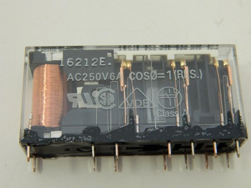 Relais Omron G7SA-4A2B-DC24 4S+2O