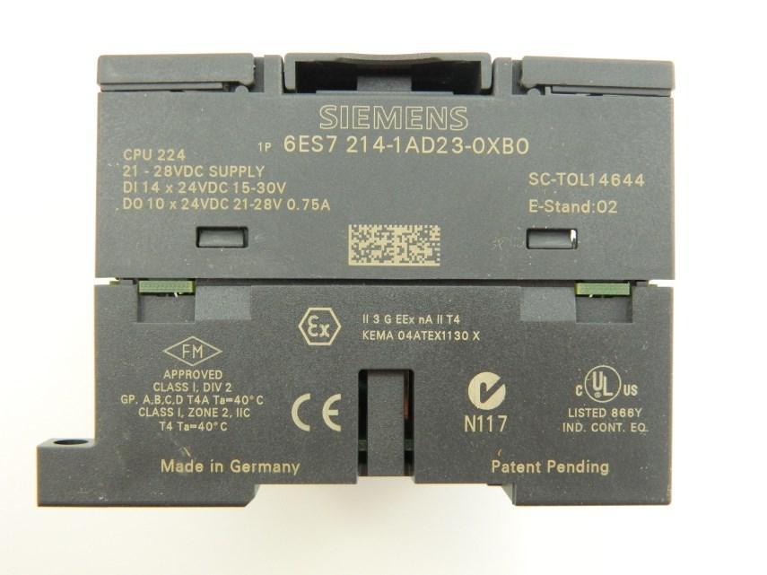 CPUSiemens 6ES7 214-1AD23-0XB0 224 DC/DC/DC