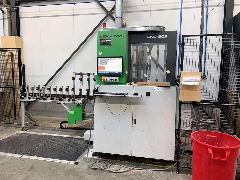 Biesse Brema Eko 902 gebruikte verticale CNC-machine