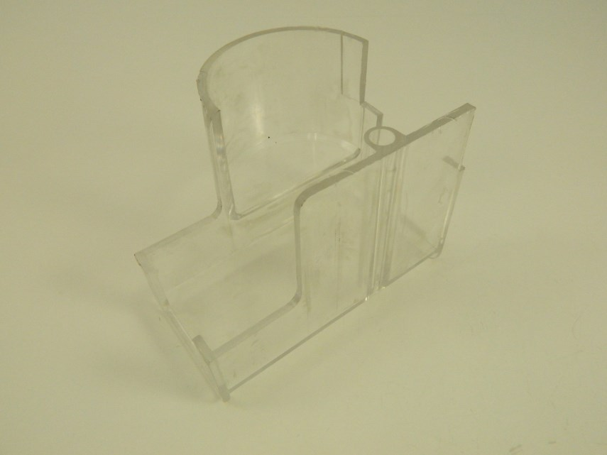 Plexiglas beveiligingskap GLS2/18F