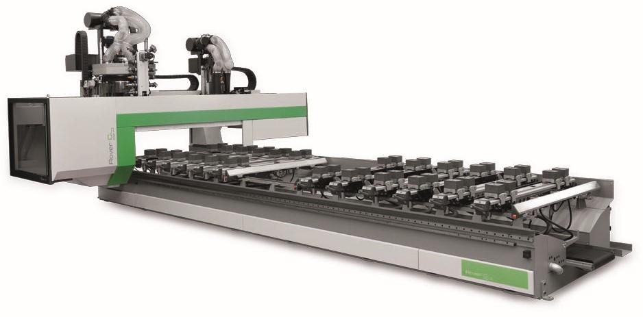 Biesse Rover C CNC-gestuurde freesmachine