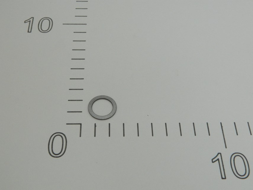 Ring 21x15x1 mm