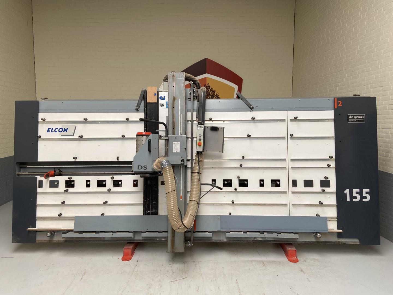 Elcon DSL 155 gebruikte wandplatenzaag