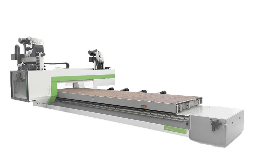Biesse Rover C FT CNC-gestuurde freesmachine